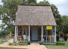 Merryweather Historical Village was based on the DARLING Henkel Square Market in Round Top, Texas.