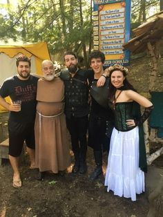 Sir Bartolonis of Raviolé Son of the Northern Sky Demon Chris and Queen Chimera encountered a wise storyteller at the New York Renaissance Faire who regaled them with tales of ancient wonders. #WintersWake #Metal #Band #FolkMetal #VikingMetal #Awake