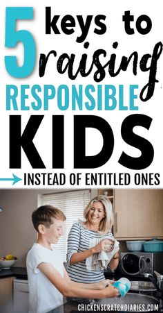 kids Teaching responsibility and being helpful takes intentional steps. Here's how to avoid raising entitled kids! Gentle Parenting, Parenting Teens, Parenting Advice, Parenting Quotes, Natural Parenting, Peaceful Parenting, Kids Behavior, Raising Kids, Happy Kids