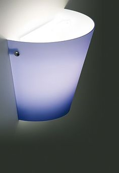 Wall lamp in blown glass. #Liola #led #walllamp
