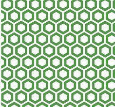 Hexagon,modern,trendy,pattern,white,cube,green