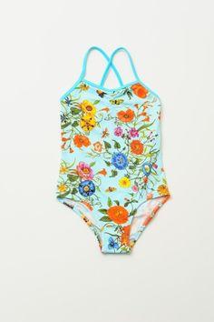 Girls bathing suit | Stella Cove Floral Maillot   #girlsbathingsuit