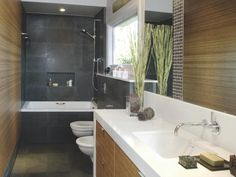 Check out these imaginative approaches to redesign in the bathroom.