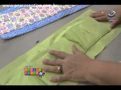 Patchwork Ana Cosentino: Organizador de Bolsas (Ateliê na TV 04/03/2013)