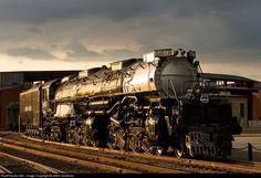 RailPictures.Net Photo: UP 4012 Union Pacific Steam 4-8-8-4 at Scranton, Pennsylvania by Mitch Goldman