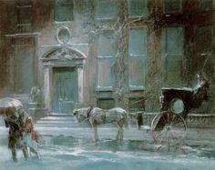 Everett Shinn, The Canfield Gambling House (1912)