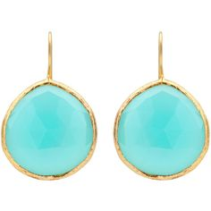 Coralia Leets Peruvian Opal French Wire Earrings ($193) ❤ liked on Polyvore
