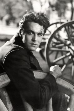 "Henry Fonda. Wow! as a young man he looks so much different than the  ""On Golden Pond"" era actor I remember...."