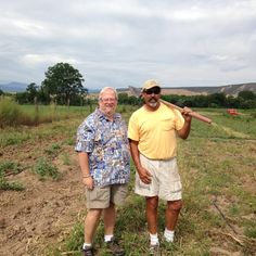 A visit to Matt Romero's farm was a beautiful way to spend a morning.