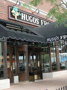 Hugo's Frog Bar & Fish House in Naperville, IL. is a fun place for dinner or drinks!
