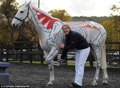 Students learn the anatomy of horses. Pony club should Do this