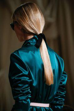 Oscar de la Renta - New York Fashion Week / Spring 2016 #teal