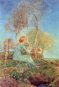 Heinrich Vogeler - 'Nostalgia' 1908