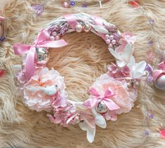Garlands, Floral Wreath, Romantic, Wreaths, Christmas, Jewelry, Decor, Yule, Decoration