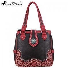 Montana West Turquoise Concho Collection Tote Handbag – Handbag Addict.com