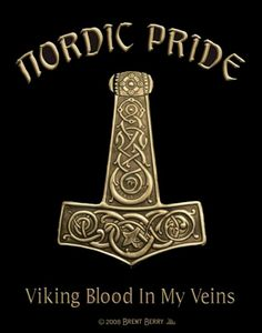 ゝ。Nordic Pride.。Viking Blood In My Veins.