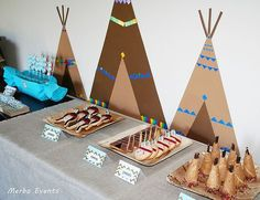 Detalle Sweet tableκ Cumpleaños Pocahontas Merbo Events by Merbo Events, via Flickr