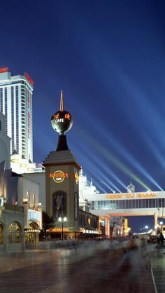 Atlantic City, New Jersey; This would be a random weekend trip at any time of year. Of course we'd be hitting the casinos and the boardwalk.