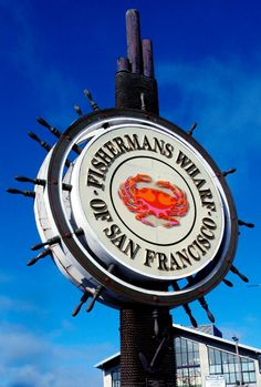 Fisherman's Wharf, San Francisco.  Was here in September.  I love SF! ~ A.M.