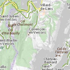 Itinéraire Rencurel - Villard-de-Lans - ViaMichelin