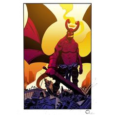 Apocalypse Hellboy In Color by petevaldez on deviantART
