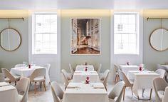 HIX Residency at Fenwick on Bond Street | by Brady Williams | bespoke mirror design | restaurant design
