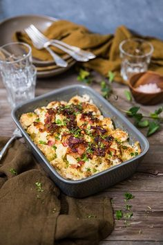 Breakfast Recipes, Dinner Recipes, Cooking Recipes, Healthy Recipes, Charcuterie, Lchf, Ost, Cauliflower, Good Food
