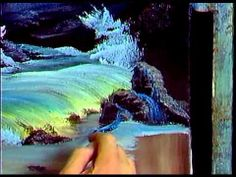 Bob Ross - Painting Evening Seascape - Painting Video