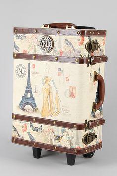 Antique Parisian Postage Luggage