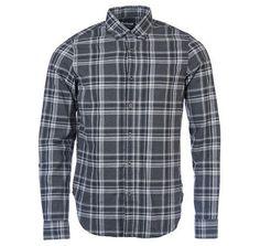 Barbour International Lane Plaid Button Up Shirt