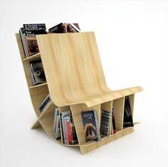 If this is a reading chair, it doesn't look comfortable.
