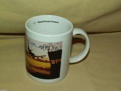 DAIMLER CHRYSLER AEROSPACE MUG DAIMLERCHRYSLER COFFEE TEA CUP AVIATION MISSLE