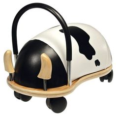 The Prince Lionheart Wheely Cow Ride On Small is designed to encourage the development of gross motor skills. These soft and friendly, rideable bugs are great for little . X 23, Small Cow, Small Baby, Prince Lionheart, Best Toddler Toys, Thing 1, Ride On Toys, Gross Motor Skills, Baby Boutique