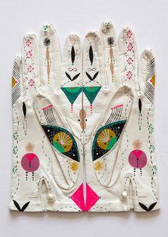 ❖ Bunnie Reiss | Cosmic Animal Gloves | Design Crush ❖