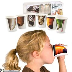 PICK YOUR NOSE™ PARTY ANIMALS- Party Cups with Personallity! - 50 Cool and Creative Products by Fred & Friends | Bored Panda