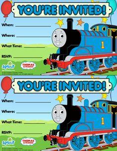 Thomas & Friends Party Invitation: Free
