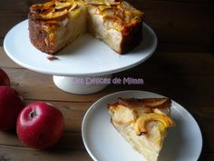 Gâteau-flan aux pommes, Recette de Gâteau-flan aux pommes par DELICES DE MIMM - Food Reporter