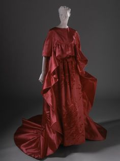 Woman's Evening Gown and Wrap | LACMA Collections