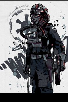 Tie-Fighter pilot ...Nice.. °°