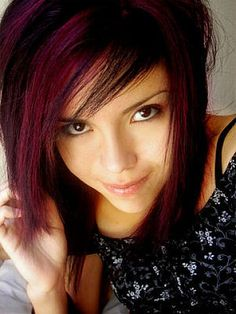 Pinterest The Worlds Catalog Of Ideas - Emo girl hairstyle video