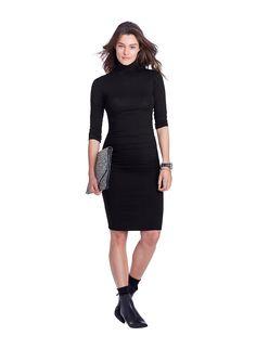Ellon Maternity Dress in Black   ISABELLA OLIVER