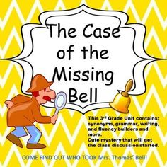 No Prep  3rd Grade Comprehension UnitContains: comprehension story, writing prompts, grammar, fluency builder, main idea and theme.This story is written for 3rd Grade readers, but can be adapted for 4th graders as well.When students have completed this on