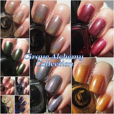 LOVE FOR LACQUER: Cirque Alchemy Collection Swatches, Review & GIVEAWAY!