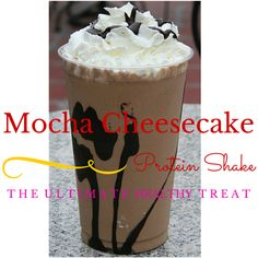 Mocha Cheesecake Protein Shake Recipe!! Yum!!