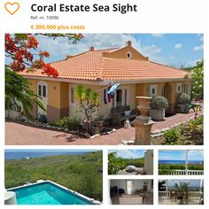 #curacao #villa #townhouse #houseforsale Coral Estate Sea Sight Visit http://orange-real.estate to see our other Villa's and Townhouses for Sale in Sunny Curacao.