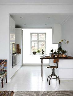 Fill in the Design _____: Danish Kitchen Wallpaper Reveal