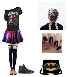 """""""Untitled #4"""" by maggsxix on Polyvore featuring Converse"""
