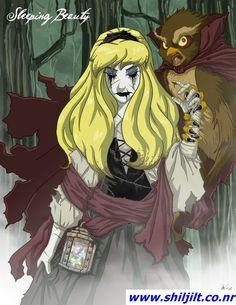 "Princesas ""demoníacas"" Disney - Aurora"