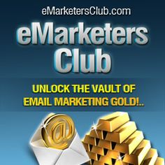 With eMarketers Club you'll learn how to build, how to grow and then how to maximize your profits from your lists. Marketing Techniques, Marketing Tools, Email Marketing, Internet Marketing, Make Money Fast, Make Money Online, Business Advice, Online Business, Advertising