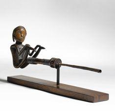 OVIMBUNDU FIGURATIVE PIPE, ANGOLA   lot   Sotheby's